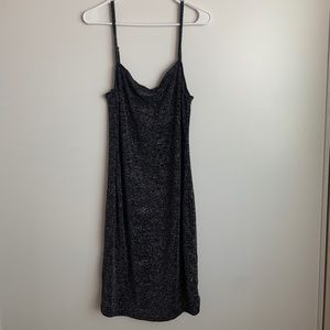 New sparkly cowl neck dress